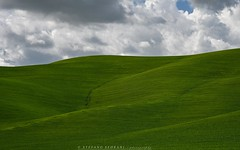 Especially green ... (stefano.sedrani1) Tags: toscana italia vald'orcia spring sky scenery atmosphere green tuscany italy nikon nature landscape beautiful