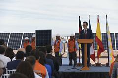 Foto29 (Intendente de Tarapacá) Tags: intendente quezada y ministra de energía participaron en la instalación los 1ros paneles fotovoltaicos granja solar 22052019