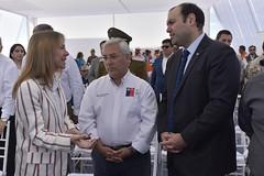 Foto23 (Intendente de Tarapacá) Tags: intendente quezada y ministra de energía participaron en la instalación los 1ros paneles fotovoltaicos granja solar 22052019