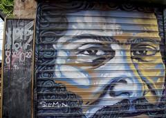 Machaneh Yehuda Market (oxfordblues84) Tags: machaneyehudamarket oat overseasadventuretravel jerusalemisrael jerusalem israel walkingtour market art streetart mural painting securityshutter shutter