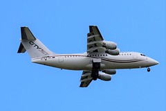 EI-RJF CITYJET AVRO RJ-85 FROM FRONT GARDEN (toowoomba surfer) Tags: jet aeroplane aviation aircraft airline airliner ncl