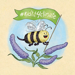 There Is No Planet Bee | #kidlit4climate (scottdubar) Tags: kidlit4climate 52weekdrawingchallenge bee butterflybush climatechange globalwarming illustration picturebook scbwi scottdubar