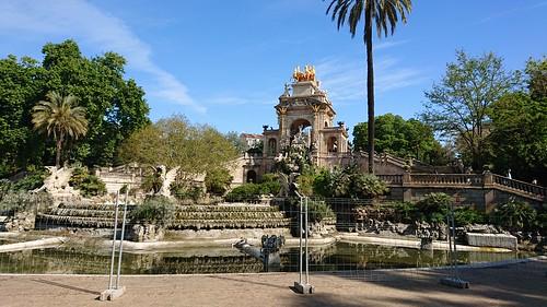Cascada del Parc de la Ciutadella, Barcelona