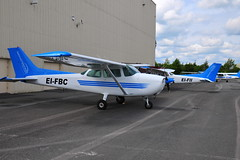 EI-FBC Cessna 172 (eigjb) Tags: weston airport eiwt dublin ireland general aviation flight training nfc national centre cessna c172 cessna172 irish light aircraft airplane plane spotting aeroplane 2019 eifii eifbc eiskp