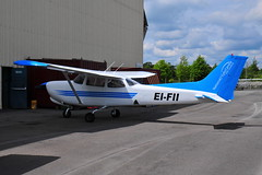 EI-FII Cessna 172RG NFC (eigjb) Tags: weston airport eiwt dublin ireland general aviation flight training nfc national centre cessna c172 cessna172 irish light aircraft airplane plane spotting aeroplane 2019 eifii 172rg