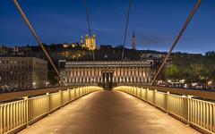 Lyon (Didier Ensarguex) Tags: tourmetallique basiliquenotredamedefourvière lyon saone pont 69 heurebleue nuit night palaisdejustice didierensarguex canon 5dmarkiv 1635