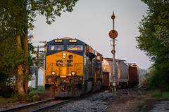 First Light at Butlerville (Peyton Gupton) Tags: csx csxt indiana sub cpl cpls butlerville