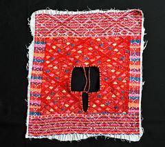 Maya Embroidery Bata Blouse Chiapas Mexico (Teyacapan) Tags: blouses mexican indigenous chiapas maya textiles bochil bata yoke bordados embroidered