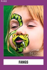 R-002 FANGS (BEYOND Face Painting) Tags: reptile reptiles amphibians amphibian animal animals beyond bfp originals