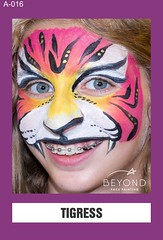 A-016 TIGRESS (BEYOND Face Painting) Tags: animal animals beyond bfp originals