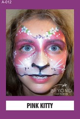 A-012 PINK KITTY (BEYOND Face Painting) Tags: animal animals beyond bfp originals
