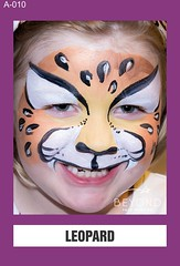 A-010 LEOPARD (BEYOND Face Painting) Tags: animal animals beyond bfp originals