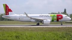 CS-TVC (Breitling Jet Team) Tags: cstvc tap air portugal airbus a320neo euroairport bsl mlh basel flughafen lfsb eap