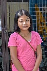 pretty preteen girl (the foreign photographer - ฝรั่งถ่) Tags: pretty preteen girl child khlong lard phrao portraits bangkhen bangkok thailand nikon