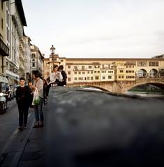 Florence (michele.palombi) Tags: ponte vecchio analogic shot 120mm 100asa c41 negativo colore 6x6 rolleicord