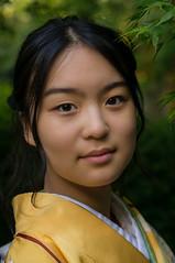 No title (Kirmatic) Tags: japanese girl woman kimono yellow sony nex6 sel50f18