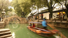 Tongli Water Town, China (Joshua Khaw) Tags: boat tongli suzhou water town canal china ancient canon eos m3