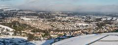 Winter Panorama (Matthew_Hartley) Tags: winter panorama pano panoramic snow snowy helmshore haslingden rossendale lancashire northwest england uk britain panasonic gm1 microfourthirds m43 mft vario 1232 1232mm