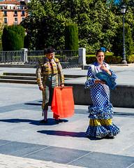 Matador and Flamenco (Matthew Warner) Tags: matthewwarner spring nikon d7100 flamenco jerrybennett matador spain nikond7100 nikkor europe 2019 madrid