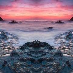 (Chris Skopec) Tags: california coastal pacificocean usa beach castatepark crystalcove lagunabeach landscapephotography landscapes nw rocks sand statepark sunset water waves