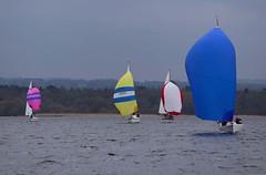 into the leeward mark (antrimboatclub) Tags: spinnaker atlantic challenge antrimboatclub boat sail sailing ireland sixmilewater loughneagh antrimbay antrim
