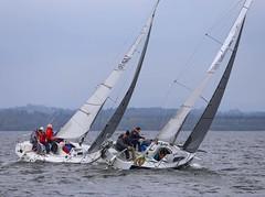 Drag race (antrimboatclub) Tags: spinnaker atlantic challenge antrimboatclub boat sail sailing ireland sixmilewater loughneagh antrimbay antrim