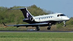 G-WLKR (AnDyMHoLdEn) Tags: embraer legacy egcc airport manchester manchesterairport 05r
