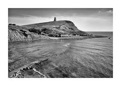 KIMMERIDGE BAY, DORSET (Barry Haines) Tags: flickrsbest sony a7r2 a7rii monochrome voigtlander 40mm nokton dorset kimmeridge bay