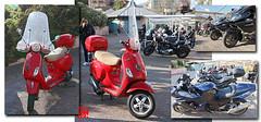 Vespa, Kawasaki, BMW, Harley Davidson, ....etc (mamnic47 - Over 10 millions views.Thks!) Tags: saintcloud chapellesaintjosephartisan 13042019 bénédictiondesmotards milons motos motards lesgens squaredesmilons rameaux 6c8a3241 montage vespa