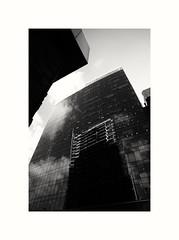 London (The Pirate 11) Tags: skyline reflex reflections glass height london aldgate whitechapel urban streetart street streetphotography biancoenero blackwhite blackandwhite bnw sony16mmf28pancake sonya7mii sonyilce7m2 sonya7 sony perspective