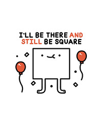 Be there (randyotter) Tags: art design illustration illustrator randyotter cute funny drawing arty wacom digitalart