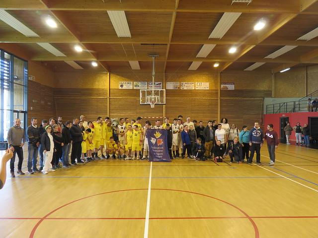 Championnat Régional de Basket Sport Adapté - plateau 3 - Langeac (43) - 14 avril 2019