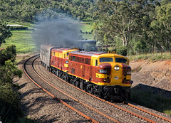 World Series Double (SJB Rail) Tags: 4490 4403 alco trains railways railroads nsw nswgr tuscan picton southern highlands ae goodwin 44 class