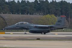 USAF, McDonnell Douglas F-15E Strike Eagle (90-0250/MO) 'Ghost Rider', 391st FS/366th FW (mattmckie98) Tags: nikon military lakenheath aircraft aviation airforce usaf us raf jet fighter f15