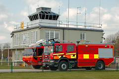Duxford Control Tower (Airwolfhound) Tags: duxford fireengine controltower