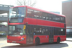 Trustybus / Galleon Travel . Roydon , Essex . YP59OEE  . Harlow Bus Station , Essex . Monday 15th-April-2019 . (AndrewHA's) Tags: harlow bus station essex trustybus galleon travel roydon scania omnicity n230ud route 420a second hand transdev london united sp 146