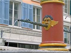 Solothurn/Schweiz - Brunnen in der Altstadt (Jorbasa) Tags: schweiz swisse switzerland solothurn barockstadt jorbasa hessen wetterau getoag germany deutschland brunnen wasserspeier marktplatz barock architekur marketplace