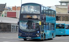 Middlesbrough (Andrew Stopford) Tags: nk64fsn volvo b9tl wright eclipse nk10cfd vdl sb200 pulsar arriva middlesbrough