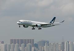 Cathay Pacific Airways Airbus A350-941 B-LRM (EK056) Tags: cathay pacific airways airbus a350941 blrm hong kong chek lap kok airport