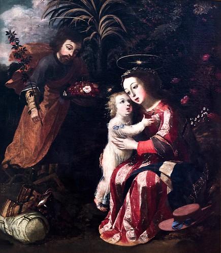 Egypt escape break (1676) - Josefa de Óbidos (1630-1684)