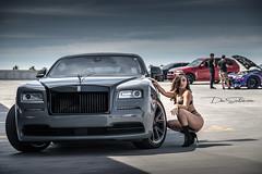 Rolls Royce II (Skyrocket Photography) Tags: dan santamaria team revered skyrocket photography chandler arizona sexy photoshoot rolls royce wraith phantom nissan gtr r35 dodge charger hellcat invader hayabusa 1300 sport bike kawasaki h2 supercharged twin turbo audi s6 v8