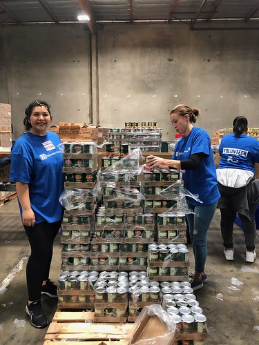 """LA Footwear Cares volunteers at the LA Regional Food Bank • <a style=""""font-size:0.8em;"""" href=""""http://www.flickr.com/photos/45709694@N06/47562927082/"""" target=""""_blank"""">View on Flickr</a>"""