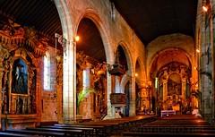 Interior da igreja Matriz de Vila do Conde (vmribeiro.net) Tags: viladoconde porto portugal vila do conde interior igreja são joão baptista matriz church sony a350