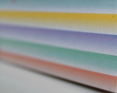 Fading stripes (ryorii) Tags: colours colors colore colori pastello fading sfumato sfumati stripes macromondays pastel