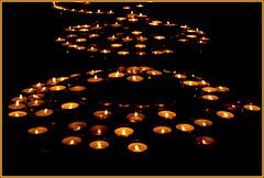 Votive Candles / Bougies votives / Votivkerzen