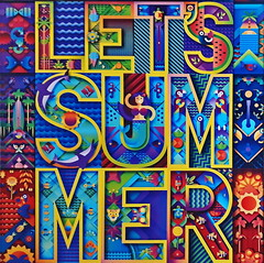 Let's summer (gerard eder) Tags: world travel reise viajes europa europe españa spain spanien signs valencia summer letters colours street streetlife streetart graffiti art arte outdoor