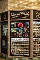 Record Mart (PAJ880) Tags: record mart shop mta times sq station manhattan nyc sign ads new york city