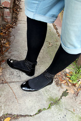 Long Shorts and Tights (unusual_stylings2019) Tags: unisex freedressing shoes strapshoes anklestrapshoes anklestrapflats flats meninflats maninflats guyinflats menwearingflats manwearingflats guywearingflats patent patentleather patentshoes patentblackshoes patentflats patentstrapshoes patentanklestrapflats leggings tights meninleggings menstights mensleggings meggings guyinleggings menwearingleggings manwearingleggings guywearingleggings menwearingtights manwearingtights guywearingtights guyintights maninleggings manintights menintights opaquetights shorts denimshorts