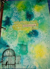 You Belong To Me (limerickme) Tags: mixed media art journal