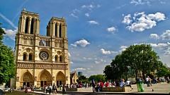 Memory of Notre Dame De Paria (prokhorov.victor) Tags: париж франция город собор храм улица путешествие